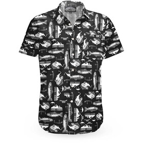 Loose Riders C/S SS Shirt Men, gone fishin black
